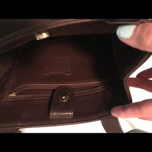 Coach Brown Leather Purse.